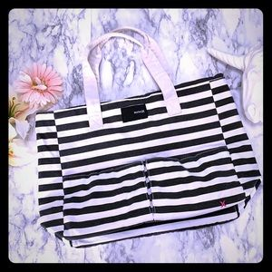HURLEY CANVAS TOTE STRIPED